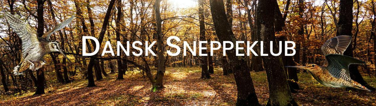 Banner for Dansk Sneppeklub